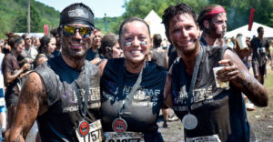 People at the Warrior Dash