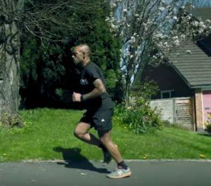 Rohan Kallicharan lost 7 stone and ran his first marathon